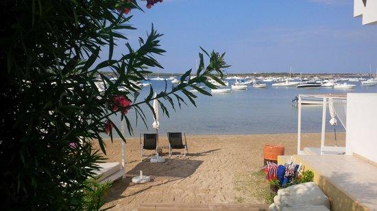 Hostal La Savina: spiaggia dell hostal
