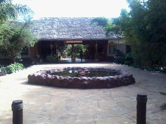 Sentrim Amboseli: Main Entrance to the Lodge