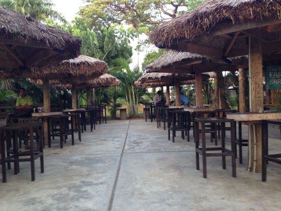 The New Nadi Farmers Club: Outdoor main area