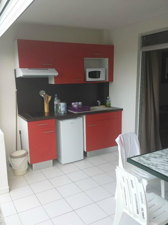 Hôtel Corail Residence: Kitchenette...