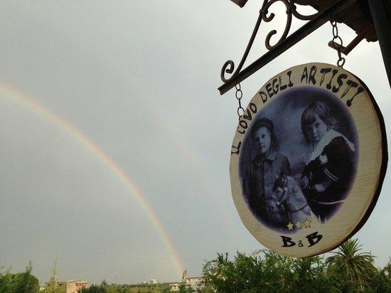 Il Covo degli Artisti : Gli arcobaleni al Covo