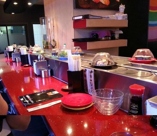 Sushi am Ring: Small part of the interior