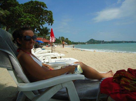 Samui Laguna Resort: rustige ligging