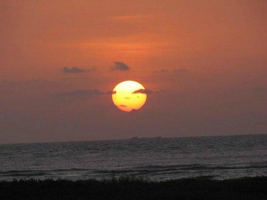 Sunset on the Miramar Beach