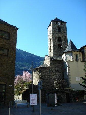 Hotel de l'Isard: старый город