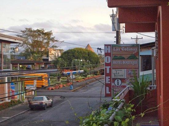 Hotel Las Colinas : Vista desde la terraza comunitaria