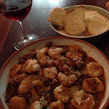 Andre's Cucina and Polenta Bar: $30 gnocchi