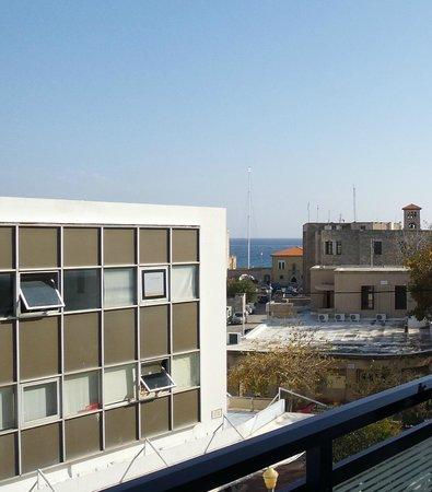 Best Western Hotel Plaza : вид с балкона