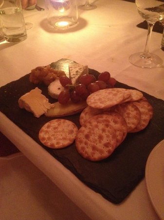 Roly's Bistro: Cheese Board