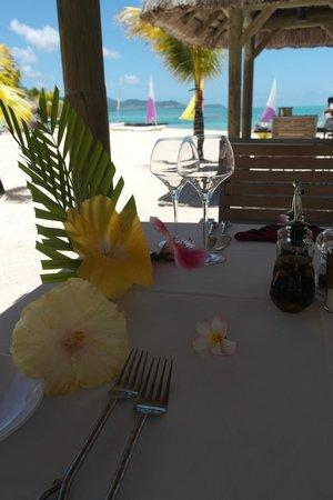 Preskil Beach Resort: lunch at Tapas