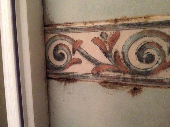 Villa Fernanda Hotel: Dirty tiles