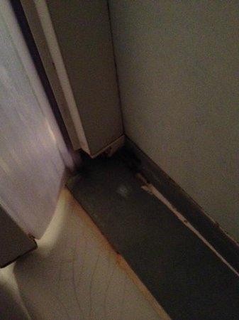 Villa Fernanda Hotel: Filthy shower