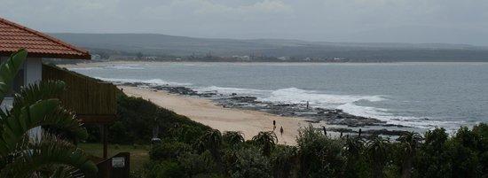 African Perfection Jeffreys Bay: Vue du balcon de la chambre