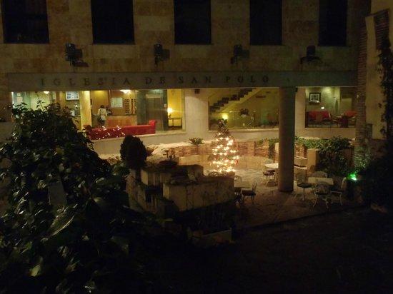 Vista del Hotel San Polo desde el exterior