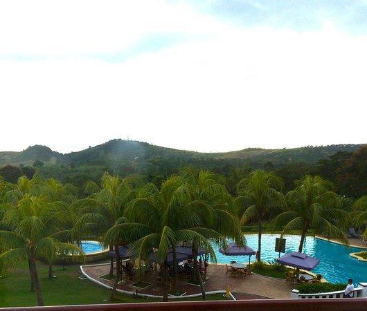 Thunderbird Resorts - Rizal: The view from my room