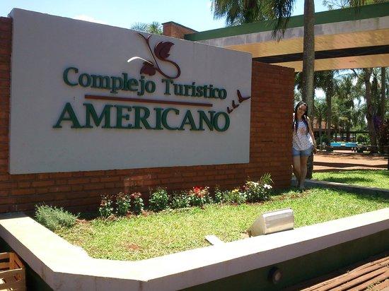 Complejo Turistico Americano : Entrada al complejo
