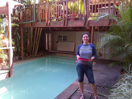 Mythai Guesthouse: one of the swimming pools