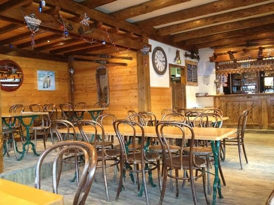Brasserie Le Pre : intérieur de la brasserie ;-)