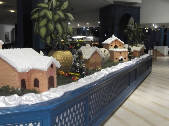 Marhaba Palace Hotel : the Christmas display