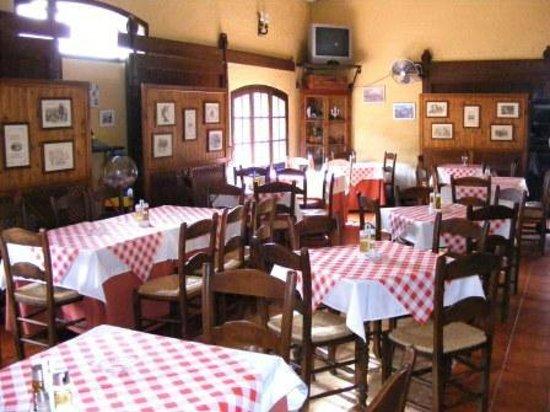 Restaurante Asador El Muelle : Comedor