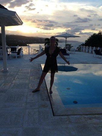 Round Hill Hotel & Villas : Pool at private Villa