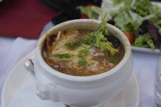 Le Kléber Brasserie : Луковый суп