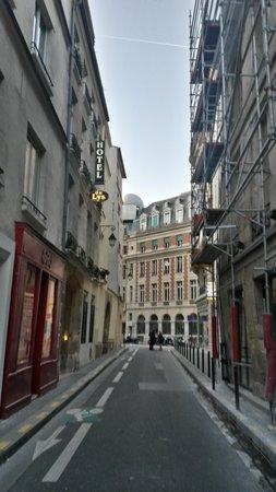 Hotel du Lys: Entrance