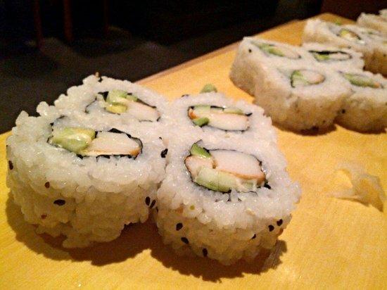 ristorante zen: Uramaki california