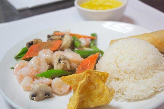 Chin Chin Chinese: Asparagus Shrimp