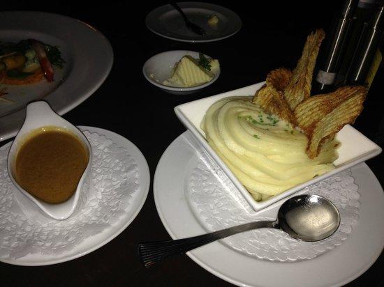 Rim Rock Cafe & Oyster Bar : Mashed Potatoes