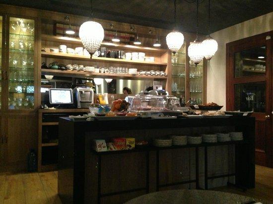 Hotel Primero Primera: Во время завтрака