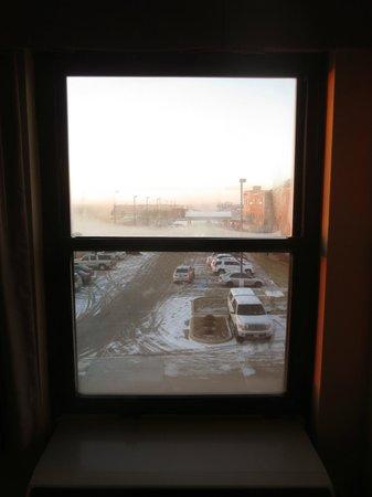 Hampton Inn Salina : View from room