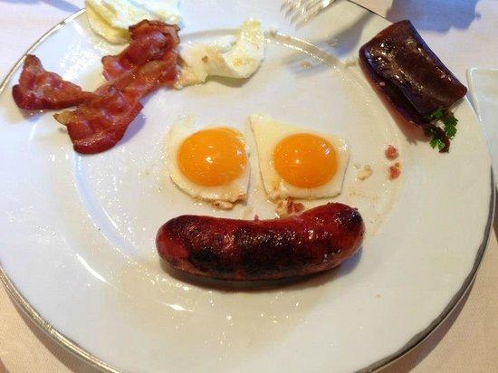 Cheval Blanc Courchevel : breakfast