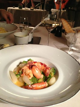 Cheval Blanc Courchevel: dinner