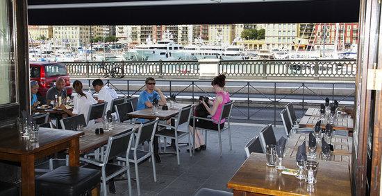 Ma Nolan's Nice Port: View of the port of Nice