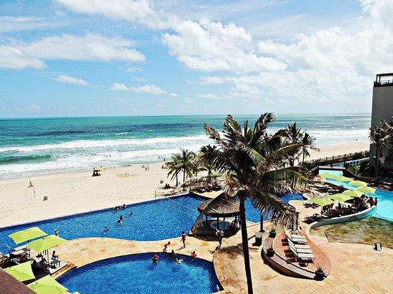 Acqua Beach Park Resort: Vista do meu quarto