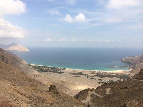 Six Senses Zighy Bay: paraglide