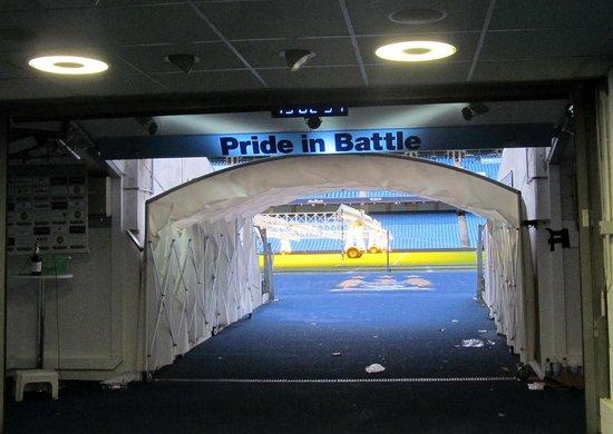 Etihad Stadium: Tunnel