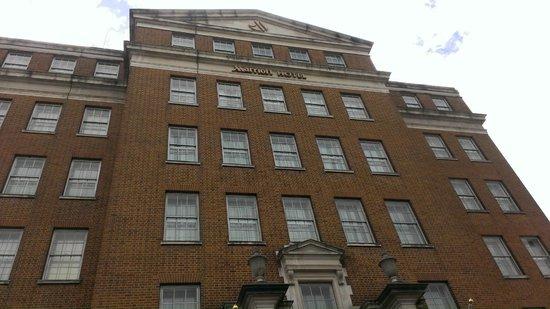 Birmingham Marriott Hotel: Hotel View