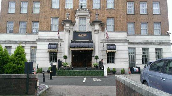 Birmingham Marriott Hotel: Entrance