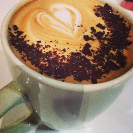 Station Coffee Company: Dark chocolate mocha - amazing!