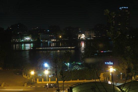 Conrad Cairo: balcony view