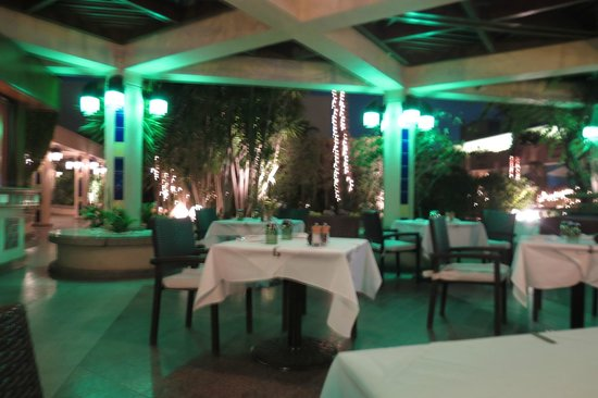 Conrad Cairo : excellent Lebanese restaurant