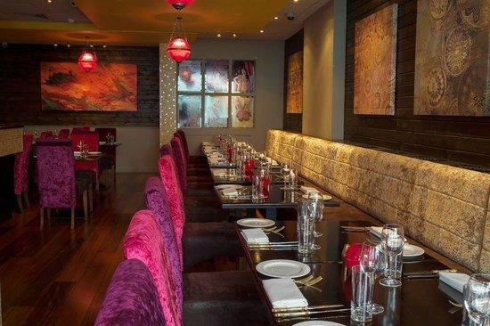 Punjabi by Nature Indian Restaurants : Inside Restaurant