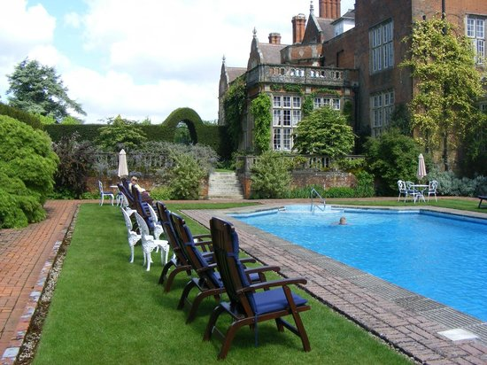 The Pool Picture Of The Oak Room At Tylney Hall