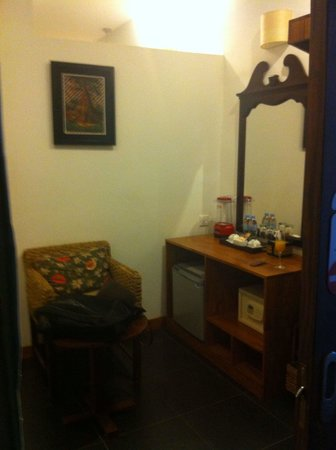 Monsoon Boutique Hotel: Entrance of room