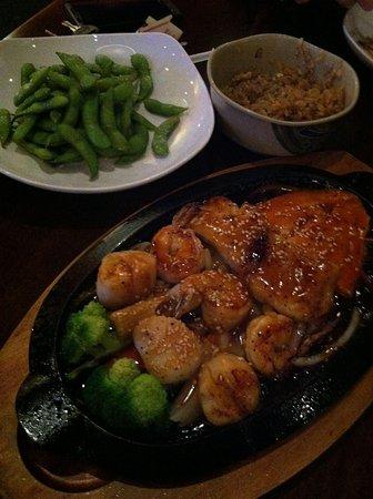 Sake Sushi and Grill: Seafood teriyaki, Excellent!