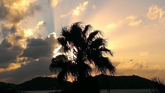 Hotel L'Esplanade: sunset landing
