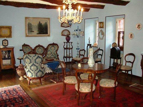 Castellamonte, Taliansko: salone azzurro