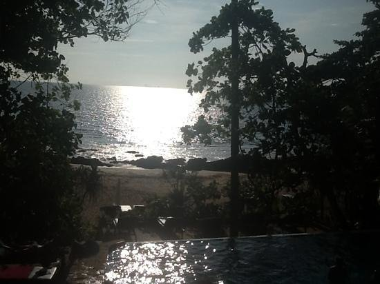 Narima Bungalow Resort: view from restaurant